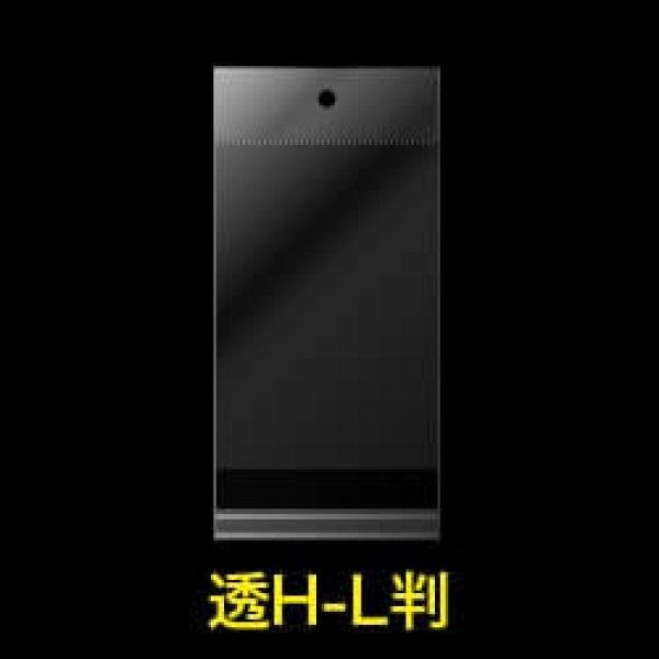 画像1: #30 OPP袋 透明ヘッダー付写真L判用 91x130+30+30 (1)