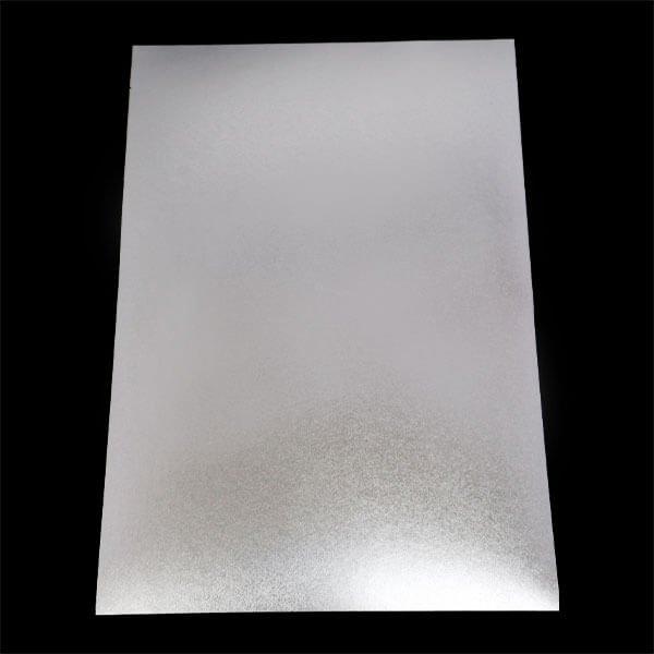 画像1: 銀シールA4判(210x297mm) フリーカット (1)