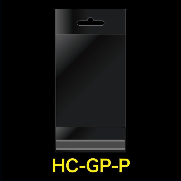 画像1: #30 OPP袋 透明ヘッダー付ハガキ用 ひこうき穴 105x155+30+30 (1)