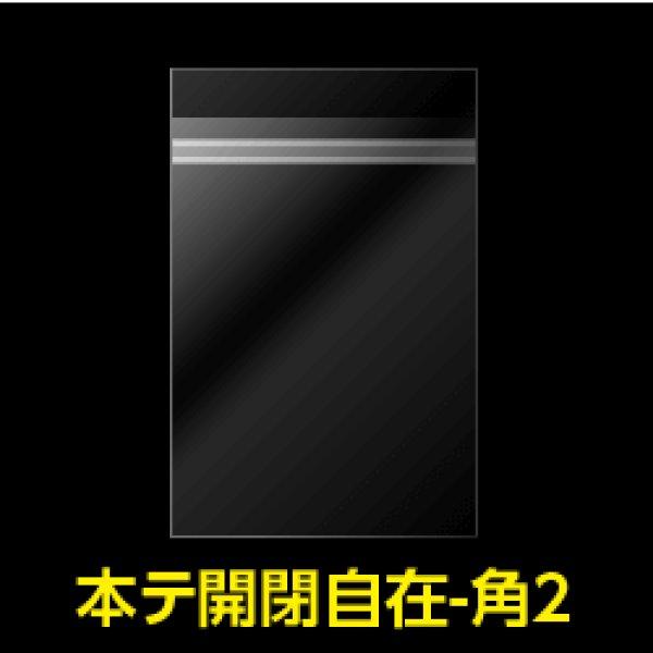 画像1: #30 OPP袋 本体側開閉自在テープ付 角2 (1)