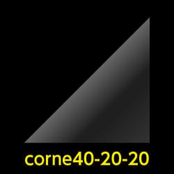 画像1: #40 アイシングクッキー用コルネ(OPP三角シート) 200x200 (1)