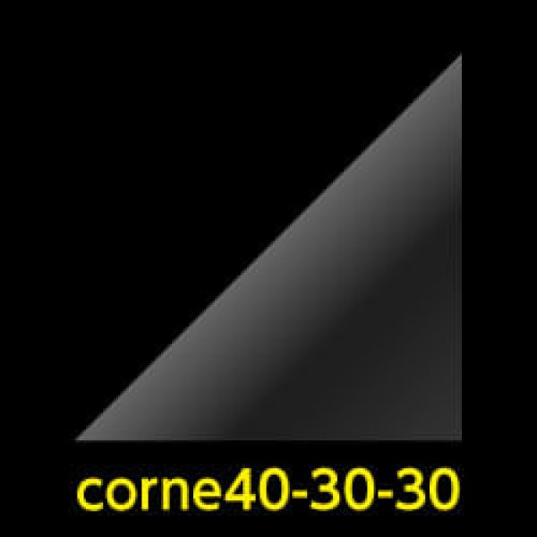 画像1: #40 アイシングクッキー用コルネ(OPP三角シート) 300x300 (1)