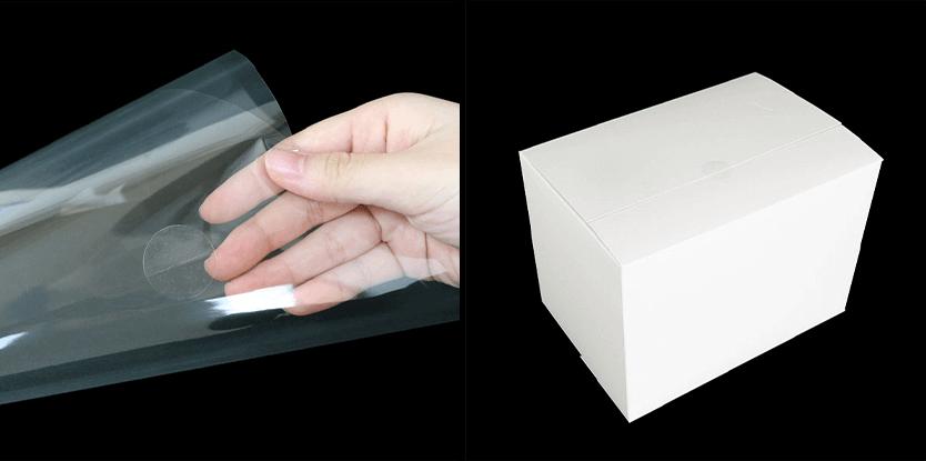 OPPコルネや箱を留めるのにも便利です。