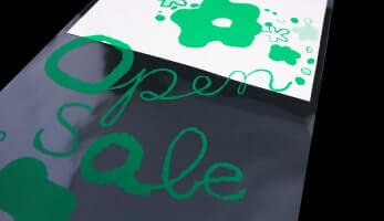 1色印刷(緑)