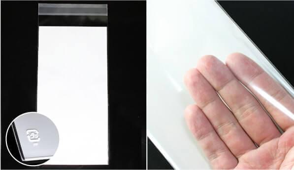 プラマークシール付き 厚さは50ミクロン