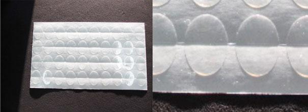 透明な封印シールギフト・ラッピング用に。